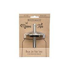 NEW W&P Design W&P Mason Jar Tap MAS JAR TAP Steel FREE SHIPPING