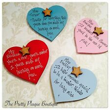 PERSONALISED FRIDGE MAGNETS GREAT FOR TEACHERS THANK YOU GIFTS BIRTHDAYS FRIENDS