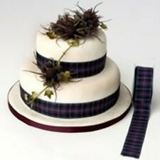 Cake Ribbon Pride of Scotland Modern Wedding Special Occasions 25mm wide 3 mtrs