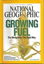"""NATIONAL GEOGRAPHIC """"GROWING FUEL: THE WRONG WAY, THE RIGHT WAY"""" OCTOBER 2007"""