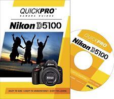 QUICKPro Training DVD Nikon D5100 -> Free US Shipping