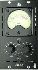 IGS Audio Black ONE LA 500 Tube Opto Compressor - API 500 Series Compatible