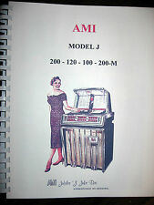 AMI Model J Jukebox Service- Parts  Manual