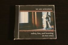 "We Are Scientists ""Safety, Fun, and Learning (In that order)"" 1st album unopened"