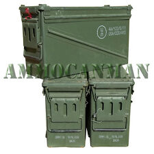 3 cans! 40Mm Ammo Cans-Grade 1 Best on eBay! Empty