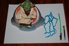 "Yoda Saga 5"" Figure-Star Wars-Hasbro 1/6th Scale-Customize Side Show 12"""