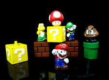 5pcs set Super Mario Bros Action Figure Mini Figurines Cake topper doll Toy Gift