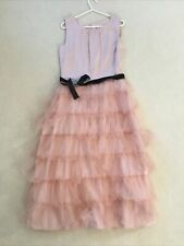 Next Girl's 15 Years Pink Lace Occasion/Party/bridesmaId dress BNWT