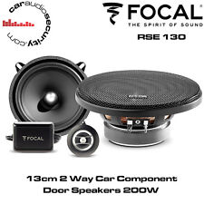 """FOCAL RSE130 - AUDITOR 13cm 5.25"""" 2 Way Component Car Speakers 200W Total Power"""