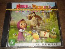 Licensed game Masha and Bear Developmental jobs for babies PC DVD Masha i Medved