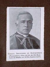 Cardinale Albuquerque e Hornig Papa Benedetto XV Giacomo Della Chiesa di Pegli