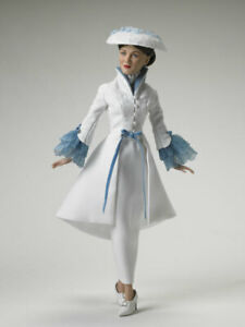 """Tonner """"High Tea"""" Mary Poppins Collection white blue lace NRFB New"""