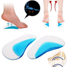 1Pair Orthotic Arch Support Insole Flat Foot Correction Shoe Cushion Inserts NEW