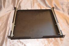 Rack mount sliding shelf pro audio gear heavy duty
