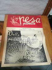 Pesa Publicar 1954 rivista estudiante d'época PADOVA storia local RARA