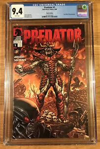 Predator #1, Dark Horse DH 100 Special Edition, (2009), CGC 9.4 NM
