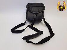 Jessops Camera Bag Bum Sac en cuir véritable