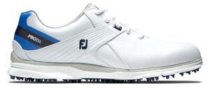 FootJoy Women's Pro SL Golf Shoes 98132 White/Blue Ladies New