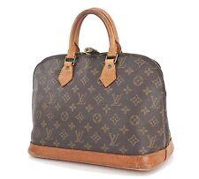 Authentic LOUIS VUITTON Alma Monogram Hand Bag Purse #26962