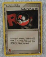 Pokemon - Rocket's Poke Ball - 89/109 Non Holo Team Rocket Mint/NM