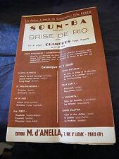 Partition Soun Ba Brise de Rio Félix Errer Music Sheet