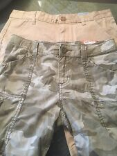 Lot of 2 Girls Old Navy and Mudd Bermuda and Cargo Style Shorts size:14 w/tags