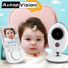 VB605 LCD Audio Video Baby Monitor mini Radio Nanny Music Intercom IR 24h Porta