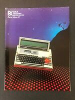 VINTAGE DAK INDUSTRIES CATALOG WINTER 1987 AUDIO VIDEO ELECTRONICS
