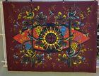 A Jean Picart Le Doux Contemporary Tapestry w/ Original Photograph of Artist