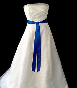 "2""x90"" SATIN Fancy Dress Party Wedding Ribbon SASH Tie Belt Bow Band Bridesmaid"