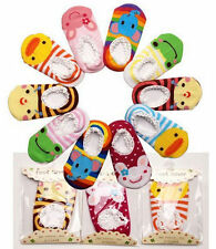 Cotton Socks Baby New Shoes Unisex Toddler Infant Booties Slipper Kid Anti-Slip