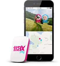 Trax Play - The worlds smallest and lightest Real-Time GPS tracker for Kids,