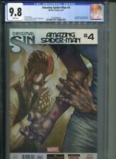 Amazing Spider-man #4 CGC 9.8 1st Appearance Of Silk