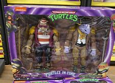 NECA Tmnt 'Turtles IN Time' Pirate Bebop & Pirate Rocksteady 2-Pack *USA SELLER