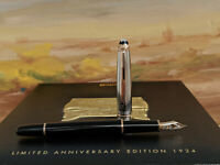 MONTBLANC Limited 75th Anniversary Edition 1924 Rose Gold 144 Fountain Pen, NOS!