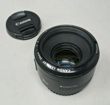 Canon 50mm F/1.8 II EF Mount Lens With Caps