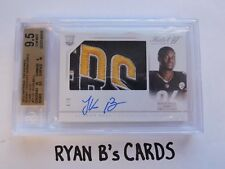 2015 National Treasures Le'veon Bell Rookie Patch Auto HAT'S OFF 6/6 POP 1! WOW!