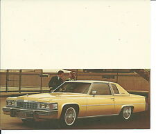 N-139 - 1977 Barrett Cadillac Promotional Mailing Card Yellow Gold Cad Pictured