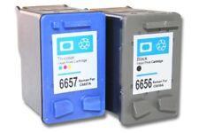 2x   Drucker Patrone für HP Nr. 56 57 Deskjet 5150w 5550 Schwarz + color