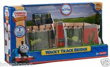 Thomas Friends Wooden Railway Wacky Track Bridge 3 Risers Twisty Track + Paxton