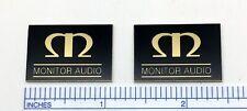 Monitor Audio Speaker Badge Logo Custom Made Aluminum