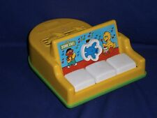 Vintage Sesame Street Baby Grand Piano Toy by Playskool 1984 8½x7x4½ inches