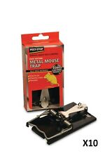 Pest-Stop Easy Setting Metal Mouse Trap Pack of 10