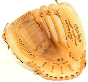 Vintage Ted Williams Autograph Model Baseball Glove Mitt Sears 1676 Pro Pocket