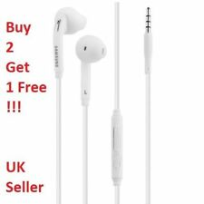 GENUINE SAMSUNG GALAXY HEADPHONE EARPHONES HANDSFREE FOR SAMSUNG S6 S6 EDGE NOTE