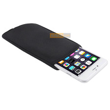 Etui Housse Néoprène POUCH BAG Noir compatible APPLE iPhone 6s Plus