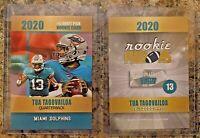 Tua Tagovailoa Miami Dolphins 2020 Limited Edition Draft Rookie Card. 2020 ACEO