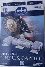 3D PUZZLE  CAPITOL BUILDING United States PATRIOTIC KIDS Washington DC Craft KIT