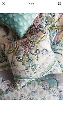 New In Package Anthropologie Florilla Euro Pillow Sham