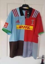 harlequins rugby home shirt by adidas bnwt xxl mens